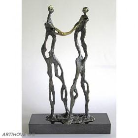 Luxe relatiegeschenken van Artihove - Een handdruk van goud - 018908MSL