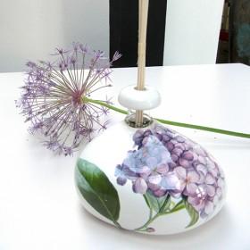 Lila hortensia
