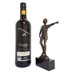 Luxe relatiegeschenken van Artihove - Johan cruijff inclusief wijn - 019045MFO