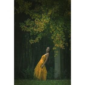 Photo art yellow