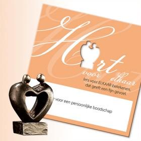 Luxe relatiegeschenken van Artihove - Hart voor elkaar - 019412MSL