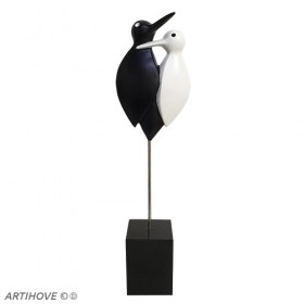 Luxe relatiegeschenken van Artihove - Love birds - 019466MNF
