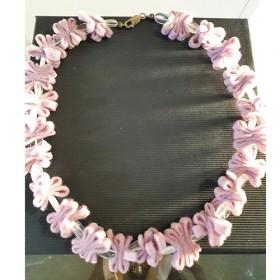 Luxe relatiegeschenken van Artihove - De kam, collier rosekwarts vilt - ANKM000011