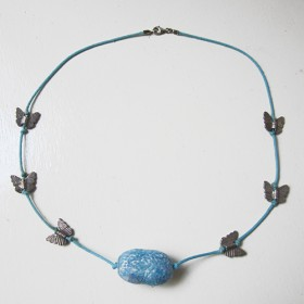 Luxe relatiegeschenken van Artihove - De kam, collier vlinders - ANKM000015