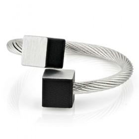 Luxe relatiegeschenken van Artihove - Clic, ring blok zwart - CLCM001036