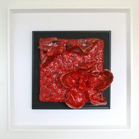 Cristina villalba, flor roja