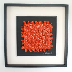 Cristina villalba, naturaleza naranja