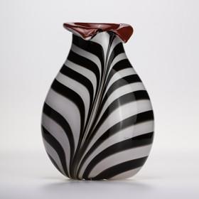 Luxe relatiegeschenken van Artihove - Loranto, vaas zebra - LOR001006