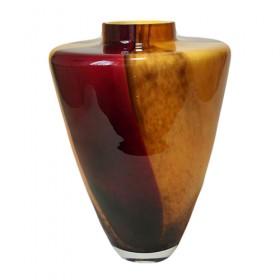 Luxe relatiegeschenken van Artihove - Loranto, vaas glas zwart - LOR001022