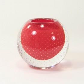 Luxe relatiegeschenken van Artihove - Loranto, rode bolle spijkervaas - LORM001035