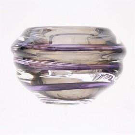 Luxe relatiegeschenken van Artihove - Loranto, vaas violet laag - LORM001037