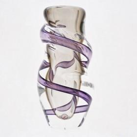 Luxe relatiegeschenken van Artihove - Loranto, vaas violet smal klein - LORM001038