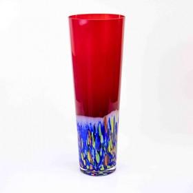 Luxe relatiegeschenken van Artihove - Loranto, vaas rood kleur - LORM001073