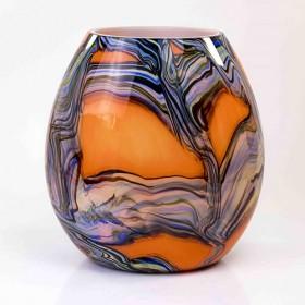Luxe relatiegeschenken van Artihove - Loranto, vaas oranje - LORM001076
