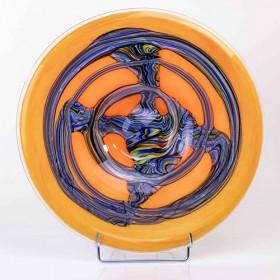 Luxe relatiegeschenken van Artihove - Loranto, schaal oranje grijs - LORM001078