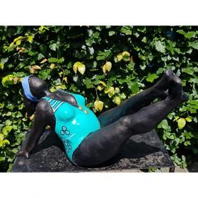 Luxe relatiegeschenken van Artihove - Vliet, benen omhoog blauw - NVVM008064