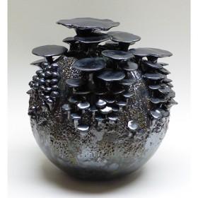Luxe relatiegeschenken van Artihove - Van der wel, paddenstoelenbol zilver - WELM001035