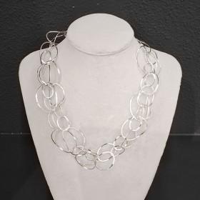 Luxe relatiegeschenken van Artihove - Dopp, collier ovalen door elkaar - YOLM000003