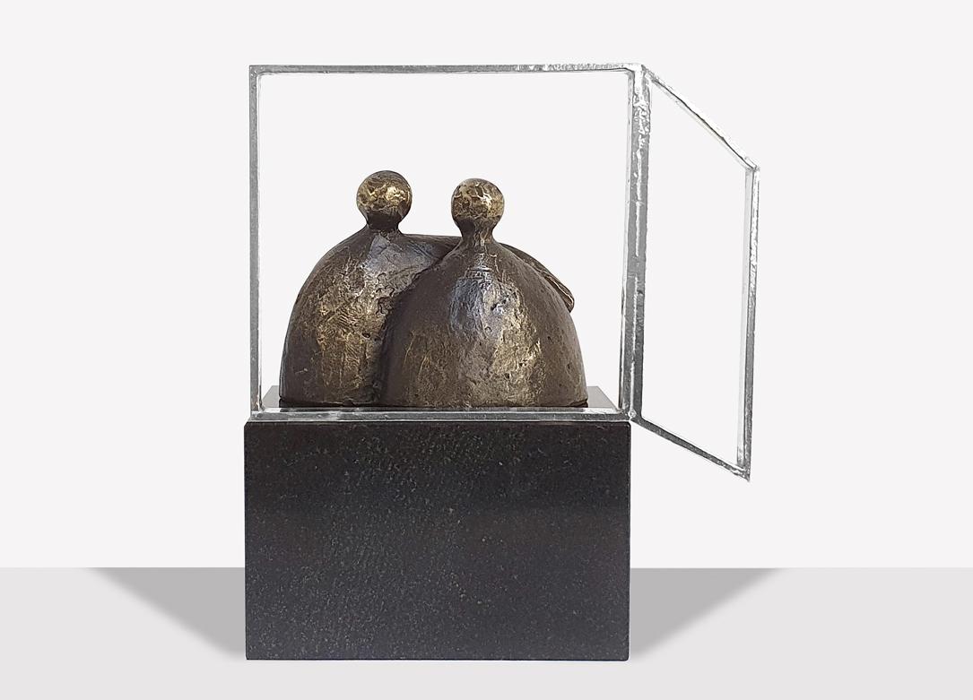 Sculptuur Hartverwarmend