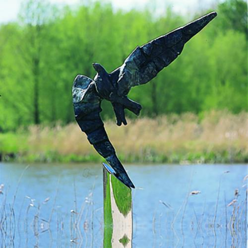 Luxe relatiegeschenken van Artihove - Sculptuur - Brons - Free like a bird - 000003MSB kopen in de Artihove sculpturen shop - 000003MSB