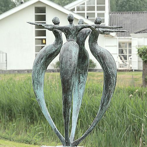 Luxe relatiegeschenken van Artihove - Sculptuur - Brons - Eenheid - 001200MSB kopen in de Artihove sculpturen shop - 001200MSB
