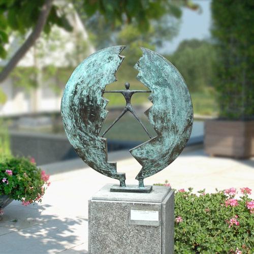 Luxe relatiegeschenken van Artihove - Sculptuur - Brons - Intermediair - 001201MSB kopen in de Artihove sculpturen shop - 001201MSB