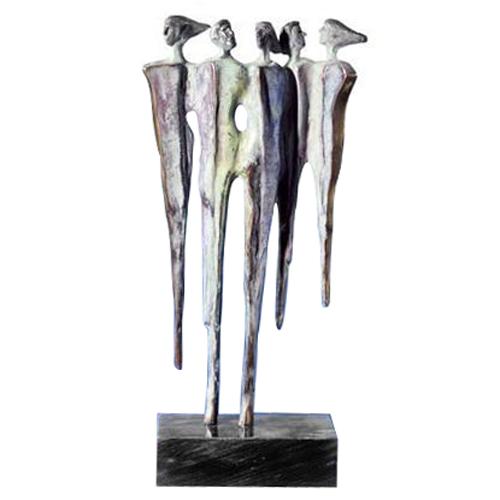 Luxe relatiegeschenken van Artihove - Sculptuur - Brons - Diversificatie - 011000MSB kopen in de Artihove sculpturen shop - 011000MSB