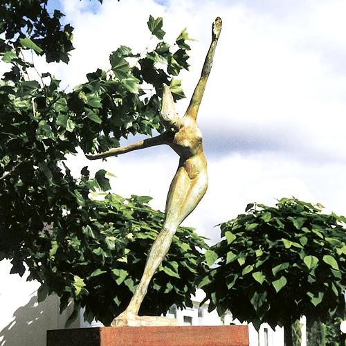 Luxe relatiegeschenken van Artihove - Sculptuur - Brons - Souplesse 130 cm - 012043MSB kopen in de Artihove sculpturen shop - 012043MSB