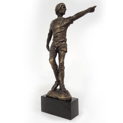 Luxe relatiegeschenken van Artihove - Sculptuur - Verbronsd - Johan cruijff - 012930MSLH kopen in de Artihove sculpturen shop - 012930MSLH