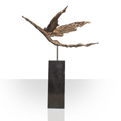 Afscheid collega cadeau sculpturen