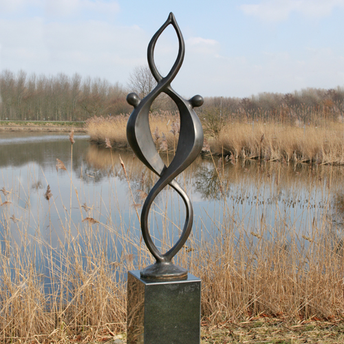 Luxe relatiegeschenken van Artihove - Sculptuur - Brons - Together - 015607MSB kopen in de Artihove sculpturen shop - 015607MSB