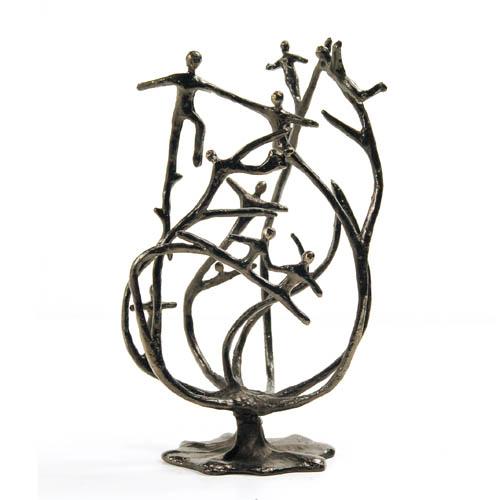Luxe relatiegeschenken van Artihove - Sculptuur - Verbronsd - De stam van de organisatie - 017307MSLQ kopen in de Artihove sculpturen shop - 017307MSLQ