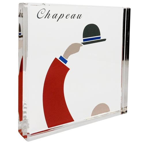 Luxe relatiegeschenken van Artihove - Geschenk Chapeau presse papier - 017895MNFQ kopen van Artihove | Verjaardag - 017895MNFQ