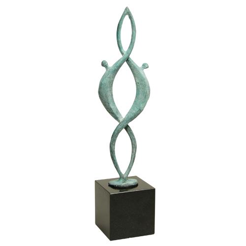 Luxe relatiegeschenken van Artihove - Sculptuur Together - 018070MSBQ kopen in de Artihove sculpturen shop - 018070MSBQ