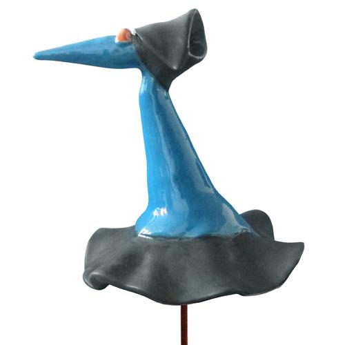 Luxe relatiegeschenken van Artihove - Geschenk Fantasievogel blauw - 018090MKP kopen van Artihove | Keramische sculpturen - 018090MKP