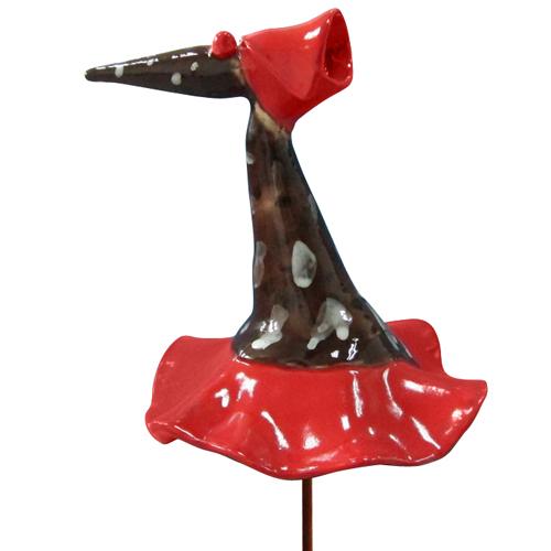 Luxe relatiegeschenken van Artihove - Geschenk Fantasievogel bruin gevlekt - 018093MKP kopen van Artihove | tuinvogels - 018093MKP