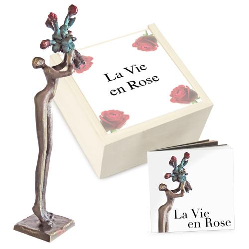 Luxe relatiegeschenken van Artihove - Geschenk La vie en rose - 018101MNF kopen van Artihove | Liefde en huwelijk - 018101MNF