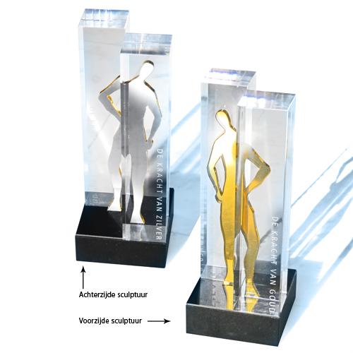 Luxe relatiegeschenken van Artihove - Sculptuur De volgende stap - 018230MNF kopen in de Artihove sculpturen shop - 018230MNF