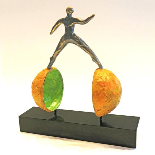 Luxe relatiegeschenken van Artihove - Sculptuur Feel the passion - 018519MSLQ kopen in de Artihove sculpturen shop - 018519MSLQ