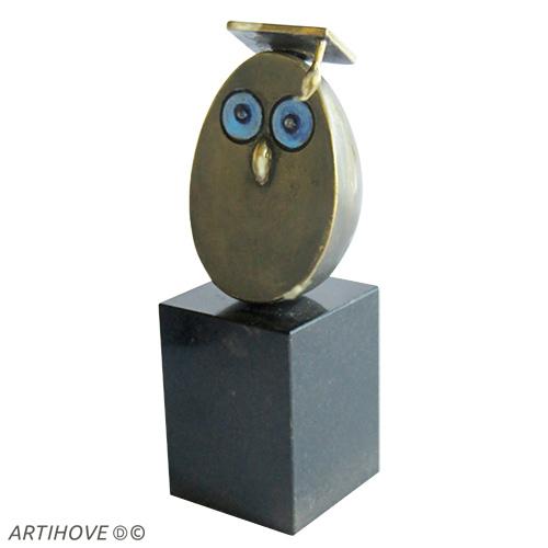 Luxe relatiegeschenken van Artihove - Sculptuur - Verbronsd - Gefeliciteerd - 018690MSL kopen in de Artihove sculpturen shop - 018690MSL