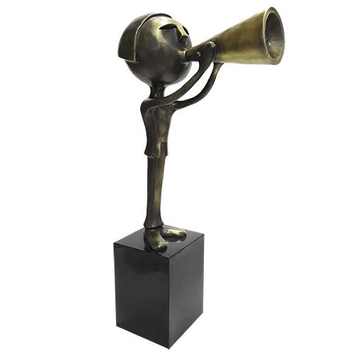 Luxe relatiegeschenken van Artihove - Geschenk Sharing communication - 018718MSB kopen van Artihove | Alle tuinsculpturen - 018718MSB