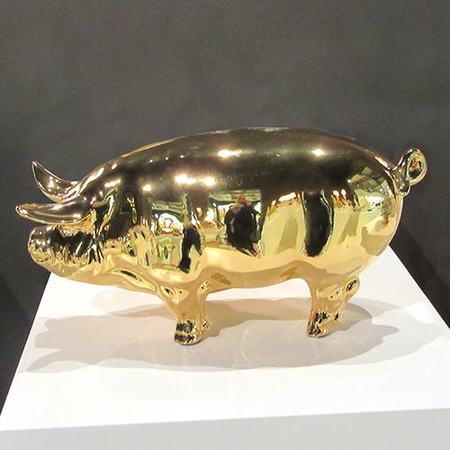 Luxe relatiegeschenken van Artihove - Geschenk Gouden varken - 018898MKP kopen van Artihove | Nieuwe Producten - 018898MKP