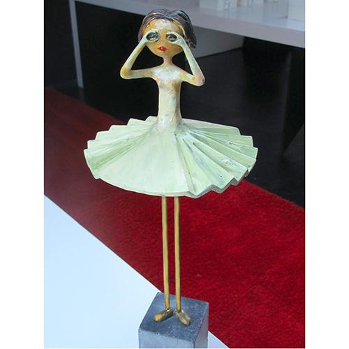 Luxe relatiegeschenken van Artihove - Sculptuur - Verbronsd - Ogend meisje - 018909MSL kopen in de Artihove sculpturen shop - 018909MSL