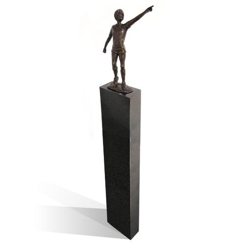 Luxe relatiegeschenken van Artihove - Sculptuur - Brons - Johan cruijff - 018948MSB kopen in de Artihove sculpturen shop - 018948MSB