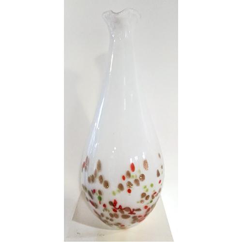Luxe relatiegeschenken van Artihove - Geschenk Vaas wit stippen - 019227MGL kopen van Artihove |  - 019227MGL