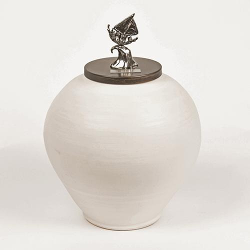 Luxe relatiegeschenken van Artihove - Geschenk Urn samen op de voorste golf - 019369MKP kopen van Artihove   Kunst in memoriam - 019369MKP