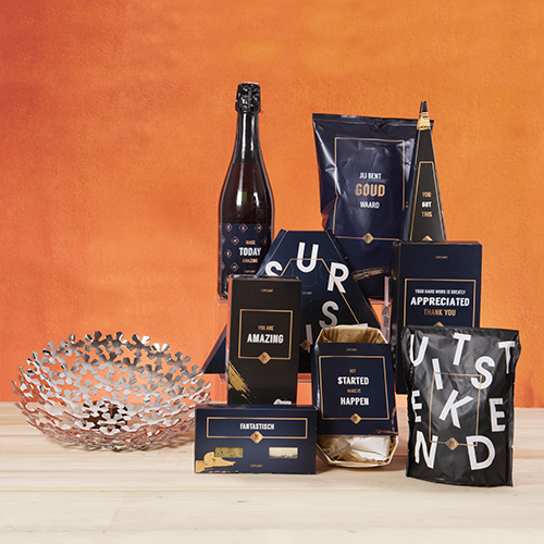 Luxe relatiegeschenken van Artihove - Geschenk Klavertje 5, meer dan geluk - 019380MFO kopen van Artihove   Kerstpakketten creatief - 019380MFO