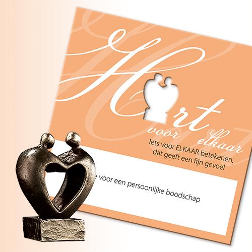 Luxe relatiegeschenken van Artihove - Geschenk Hart voor elkaar - 019412MSL kopen van Artihove | VPRO - 019412MSL