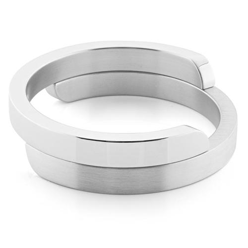 Luxe relatiegeschenken van Artihove - Geschenk Clic, armband zilver mat, gepolijst - CLCM001010 kopen van Artihove |  - CLCM001010
