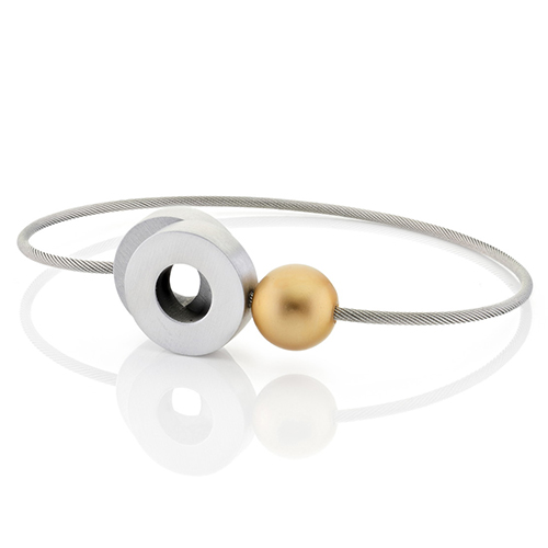 Luxe relatiegeschenken van Artihove - Geschenk Clic, armband alu goud - CLC001013 kopen van Artihove |  - CLC001013